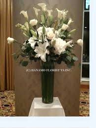 Tall Flower Arrangements New Products Hanamo Florist Online Store Vancouver Bc Canada