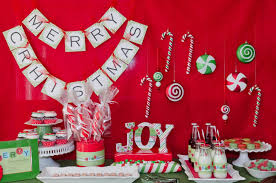 christmas party decoration ideas kids