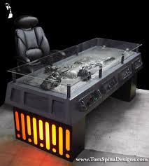 han solo in carbonite desk u2013 geek crafts