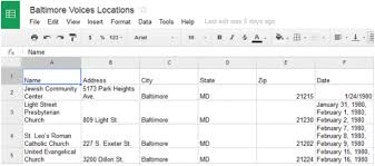 Google Map Location History Tools For Digital History Google Map Engine Lite National