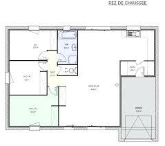plan maison contemporaine plain pied 3 chambres plan maison plein pied 90 m2 1 5 plain 3 psicologiaclinica info