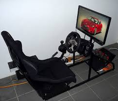 Laptop Steering Wheel Desk What Is The Best Way To Mount A Steering Wheel Controller For