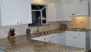 white backsplash for kitchen glamorous kitchen backsplash white cabinets black countertop