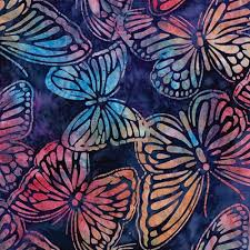 butterfly wildlife batik fabric product details keepsake quilting