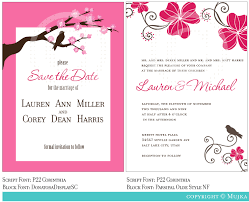 Invitation Designs Wedding Invitation Samples Truly Custom Samples Save The Dates