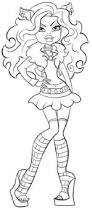 monster high clawdeen wolf coloring pages clawdeen wolf monster high coloring page coloring pages of