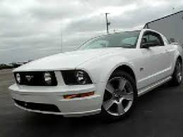 white mustang 2006 172047 2006 ford mustang gt 5 speed white http 419cars com