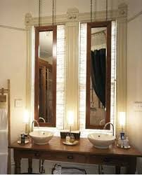 How To Hang Bathroom Mirror Best Way To Hang A Framed Bathroom Mirror Hanging Bath At The Home