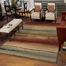 Carpets For Living Room by Amazon Com Orian Rugs Striped Capizzi Multi Area Rug 5 U00273