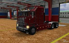 kenworth k100 kenworth k100 v 5 0 for euro truck simulator 2