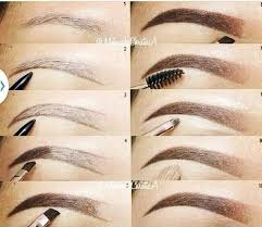 proper way to fill in eyebrows eyebrow hacks tips tricks how to guide to perfect eyebrows
