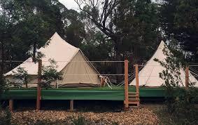 tent platform glamping luxury camping wingtons glamping make a booking