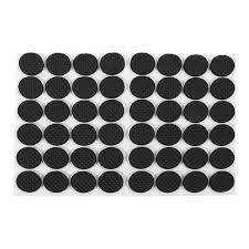 48 round table protector pads 48pcs non slip self adhesive furniture rubber feet pads table chair