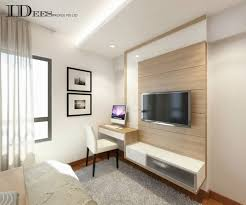 Study HDB DBSS  Parkland Residences Interior Design Singapore - Study bedroom design