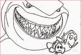 bruce shark free coloring pages art coloring pages