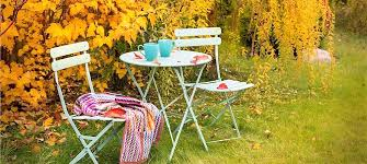 Patio Furniture On A Budget Create A Fall Friendly Outdoor Living Space On A Budget