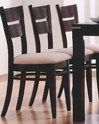 Occasional Dining Chairs Occasional Dining Dining Chair In Cappuccino Set Of 2 Mo 6750ch