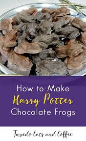 where to buy harry potter candy how to make harry potter chocolate frogs tuxedo cats and coffee
