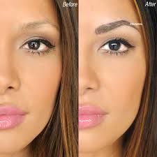 say goodbye to your boring old brow pencils with semi permanent makeup