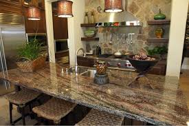 Backsplash For Kitchen With Granite Granite Countertop Kitchen Cabinet Polish Painting A Tile