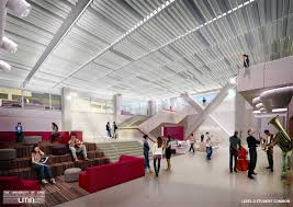building renderings of music college of liberal arts