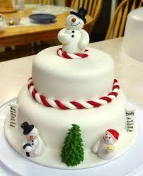 the cake ideas 25 easy christmas cake decorating ideas