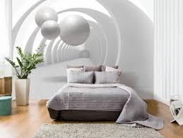 papier peint trompe l oeil pour chambre papiers peints pour habiller les murs d un intérieur moderne