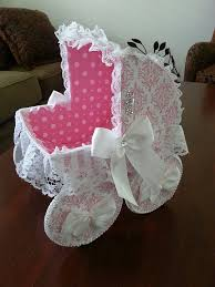 baby eliza baby carriage centerpiece baby gift basket baby