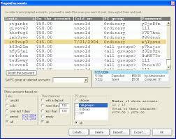 prepaid account prepaid accounts in cyberleader cafe software