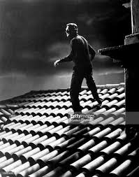 cary grant walking on a roof in to catch a thief pictures getty