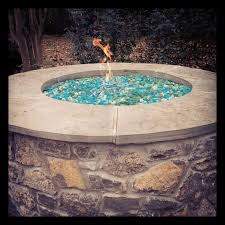 Fire Glass Pits by Outdoor Glass Fire Pit Styles Pixelmari Com