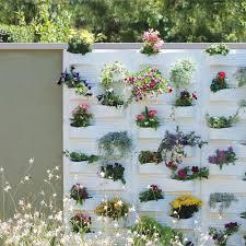 wall design wall hanging flower pots photo metal wall hanging