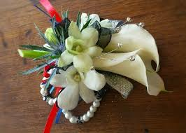 calla corsage prom flowers y h s prom wrap up calla lilies
