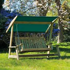 Wooden Swing Set Canopy by 2 Person Patio Swing With Canopy Wooden Outdoor Hanging Chair