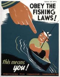 Pennsylvania travel posters images Magnificent vintage fishing posters and good ideas of usa travel jpg