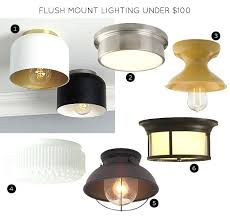 copper flush mount light idea copper flush mount light or combination steel under one hundred