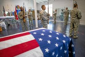 Fold Flag Military Style Memorial Day Has Special Significance For Honor Guard Members Who