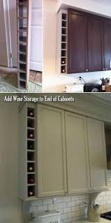 kitchen cabinet end ideas smart ideas for using wasted space on kitchen ends of