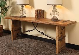 rustic console table 72 inches tedxumkc decoration