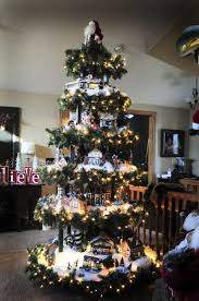 Christmas Village Sets Christmas Tree Christmas Tree Village Village Ladder Christmas