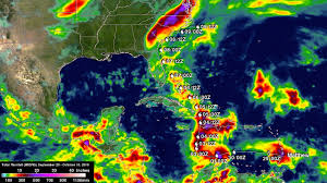 Caribbean Weather Map Nasa Adds Up Deadly Hurricane Matthew U0027s Total Rainfall Nasa