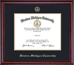frames for diplomas diploma frames wmu online