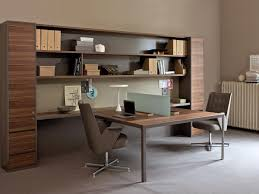 walls equipped for office with storage units idfdesign
