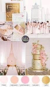 gold wedding theme glamorous ballroom wedding shades of blush pink and gold wedding