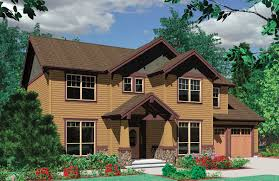 craftsman plan with mission style window 69314am 2nd floor master suite bonus room cad craftsman plan with mission style window 69314am architectural