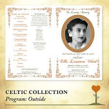memorial program sles 9 best images of funeral phlet template free funeral