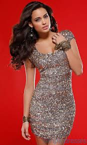 sequin homecoming dress with cap sleeves clothes for gals