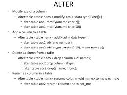 Alter Table Change Column Name Oracle Sql Plsql Complete Guide