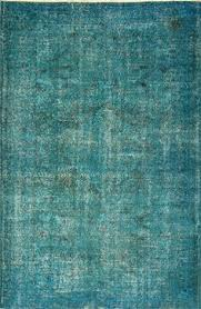 Vintage Overdyed Turkish Rugs Love The Color Of This Matt Camron Overdyed Aqua Rug We Have