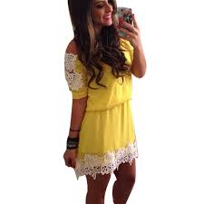 cheap long yellow lace dress find long yellow lace dress deals on